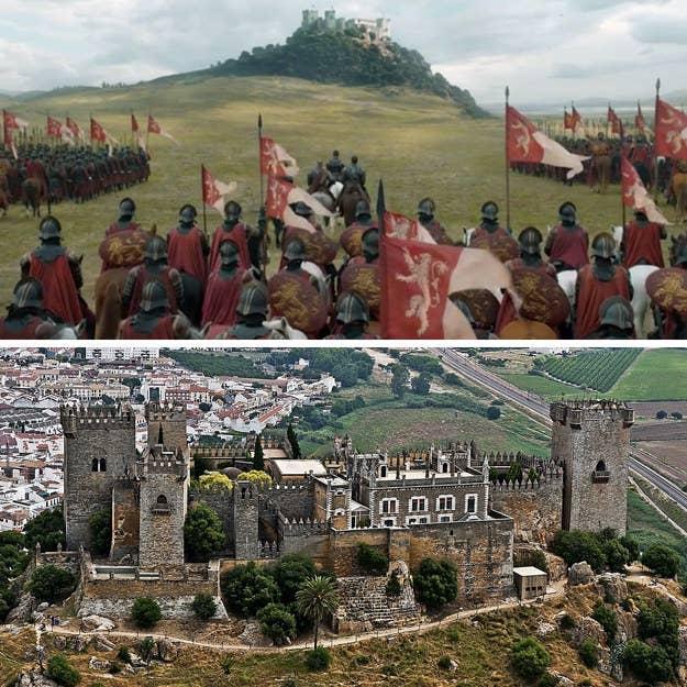 Este hermoso castillo medieval hace alarde de una arquitectura que refleja tanto su historia islámica como cristiana, y se construyó en el siglo VIII. Aparentemente también es muy fácil de saquear... si eres Jaime Lannister, de todos modos.