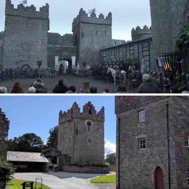 """Este es el destino de soñado del aficionado de Game of Thrones. Hogar de los Stark y también en una época mucho más feliz cuando, ya sabes, ¡estaban TODOS vivos! En la vida real, sin embargo, ¡Castle Ward es mucho más divertido e incluso celebra un """"Festival de Winterfell"""" una vez al año!"""