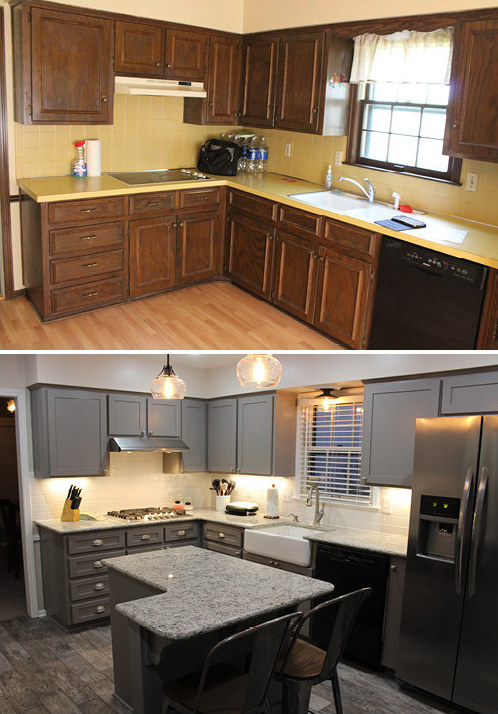 16 before and after home makeover photos that will make for Home decor quiz buzzfeed