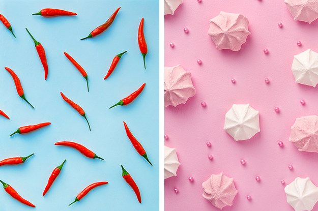 These Mesmerizing Food Patterns Will Determine Whether You're More Open Or Reserved