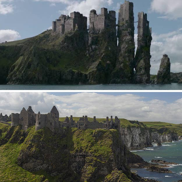 Este castillo en ruinas se construyó alrededor del 1500. Aunque parezca bastante diferente de su contraparte de los Tronos, Pyke, todavía parece dramática. Y apostamos que un montón de combates digno de Greyjoy ocurrió allí en algún momento también.