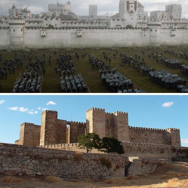The Castle of Trujillo in Cáceres, Spain (Casterly Rock).