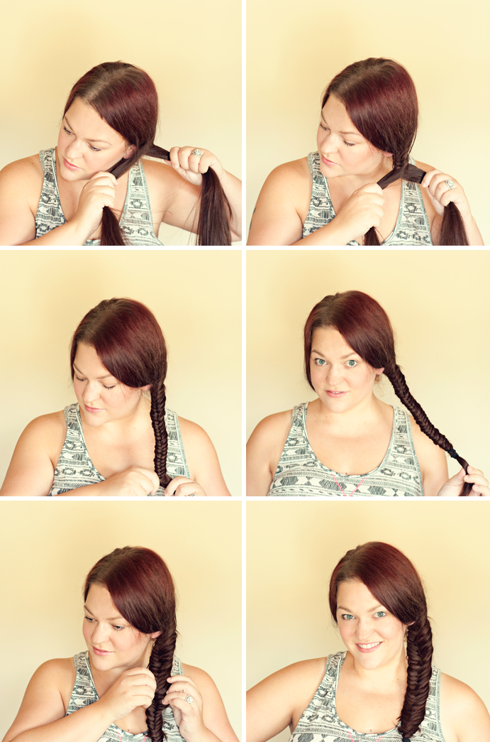 More fishtail braid tips on Hairspray and High Heels here.