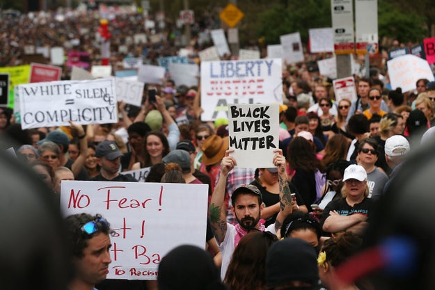 "A right-wing event in Boston that billed itself a ""Free Speech Rally"" attracted only a few dozen supporters on Saturday, while an estimated 40,000 counter-protesters turned up to demonstrate against racism."