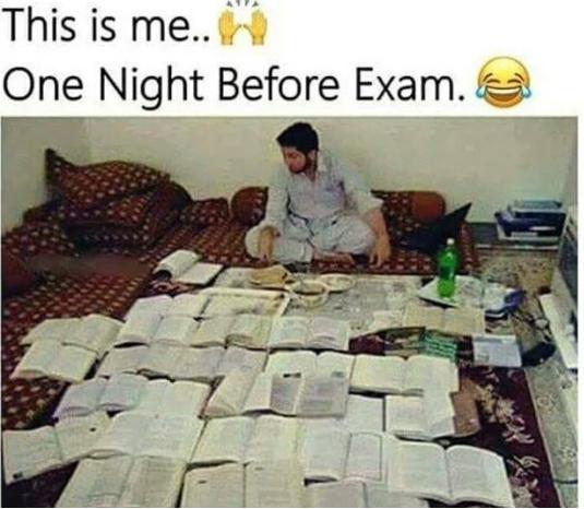 Funny Exam Status Captions For Exam Time Exam Over Status
