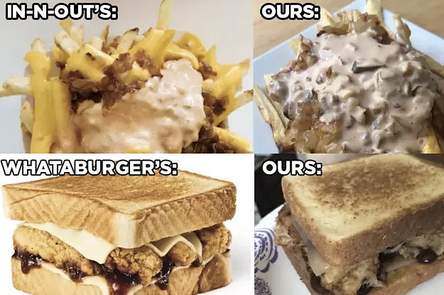 We Tried To Make Copycat Recipes Of Popular Chain Restaurant Foods And They Were Pretty Legit