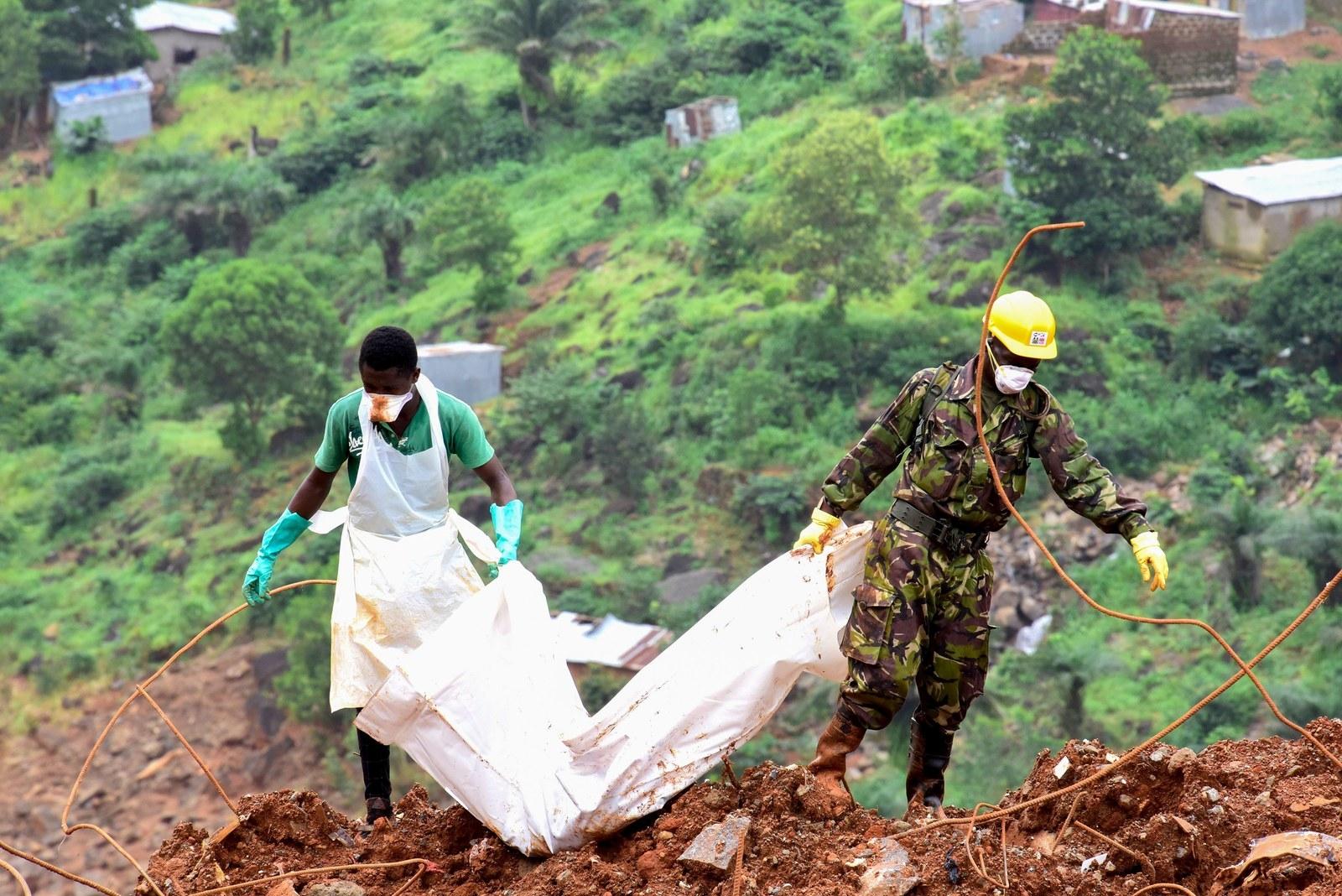 How Ebola Prepared Sierra Leone For A Massive Natural Disaster