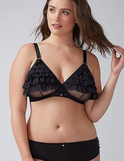 cacd0985f 21. Lane Bryant s intimate line proves that — yes — bras should be both  gorgeous and supportive.