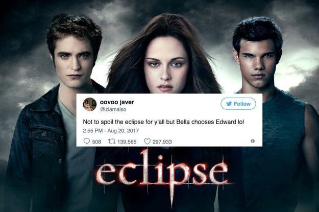 everybody is making the same twilight joke about the eclipse and