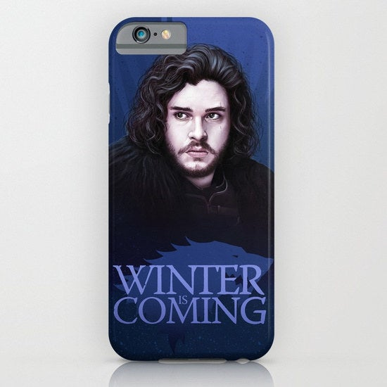 I wouldn't mind looking at those curls each time I grab my phone. 😍Get it from Society6 for $15.