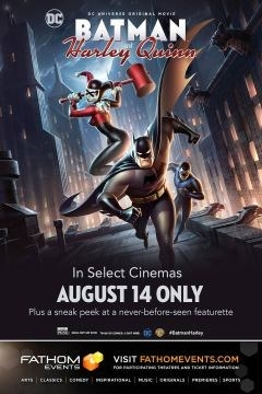 """Last week, Warner Brothers released the DC animated film """"Batman and Harley Quinn"""" into cinemas for one night only."""