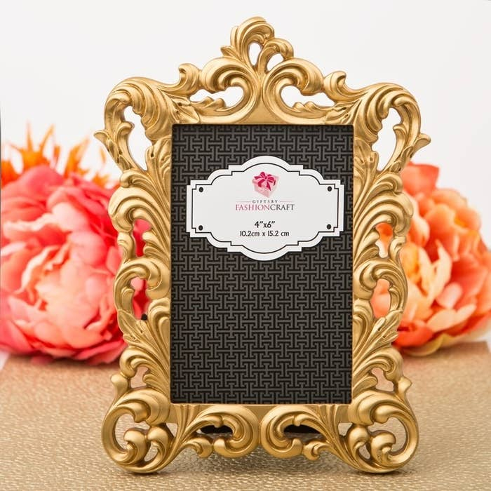 8427b49cccf A baroque-style picture frame to make any photo look like a royal portrait.