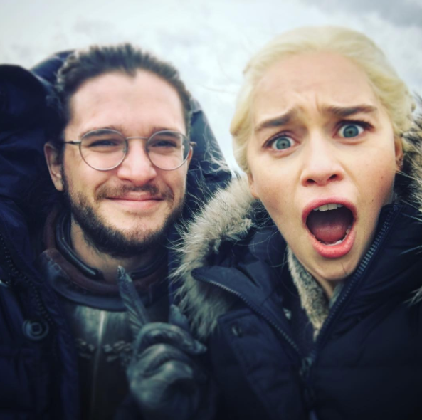 "Image result for SOME ""GOT"" FANS DIDN'T KNOW THAT EMILIA CLARKE WORE A WIG AS DAENERYS AND I'M HONESTLY CONFUSED"