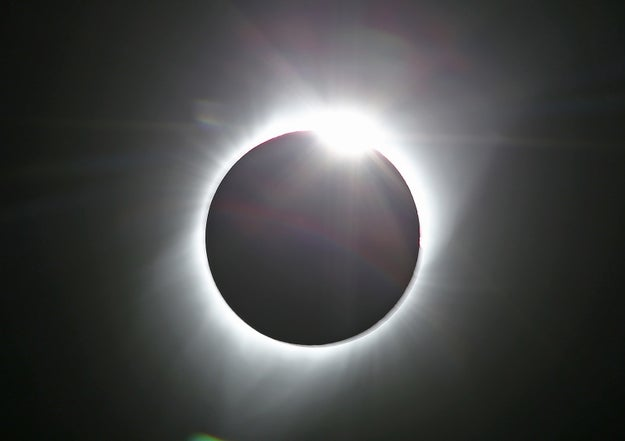 In case you missed it, North America witnessed one of nature's wonders today — a solar eclipse.