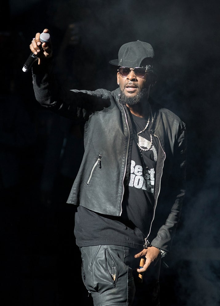 R. Kelly in concert at Bass Concert Hall on March 3, 2017, in Austin.