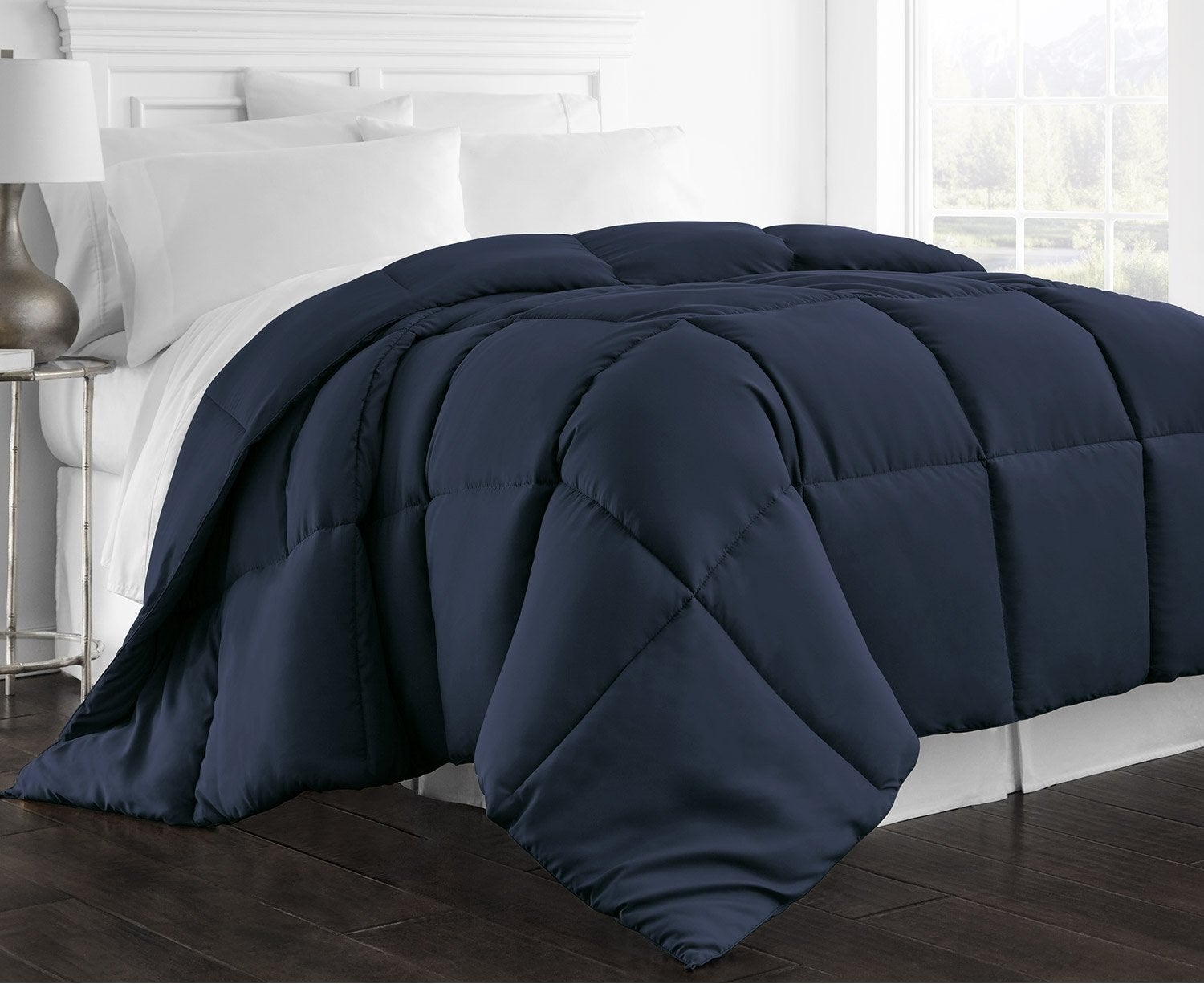 """Promising Review: """"One of the softest comforters I've ever used. It's fluffy and doesn't stay too hot, but just warm enough. Feels like I'm in a fancy hotel or something."""" —Amazon CustomerGet it on Amazon for $39.95+ (available in six colors and three sizes)."""