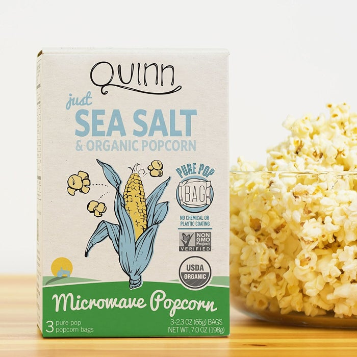 "Promising review: ""I normally do not buy popcorn, as I don't care for it myself. My kids have been bugging me to buy some to go with their Redox rentals, but I generally steer clear of GMOs, and most popcorn at our local grocery is GMO loaded. I do, though, buy the organic kernels from Trader Joes, but it requires more work on my part. Not lazy — just a busy momma with four kids! So, I set out to find some good quality popcorn. Came across this brand and went off the reviews. My kids LOVED it! I mean LOVED it! They said it was the best popcorn they had ever had."" —4kids+3dogsPrice: $5.01 for one box"