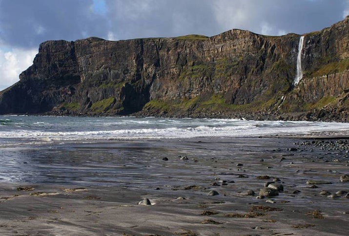 This stunning, remote bay on the Isle of Skye is a dead ringer for the cliffs and sands of Dragonstone, where Stannis Baratheon regularly goes for stressed-out walks in season three. The beach featured in the show is Muriola Beach in Spain's Basque country.