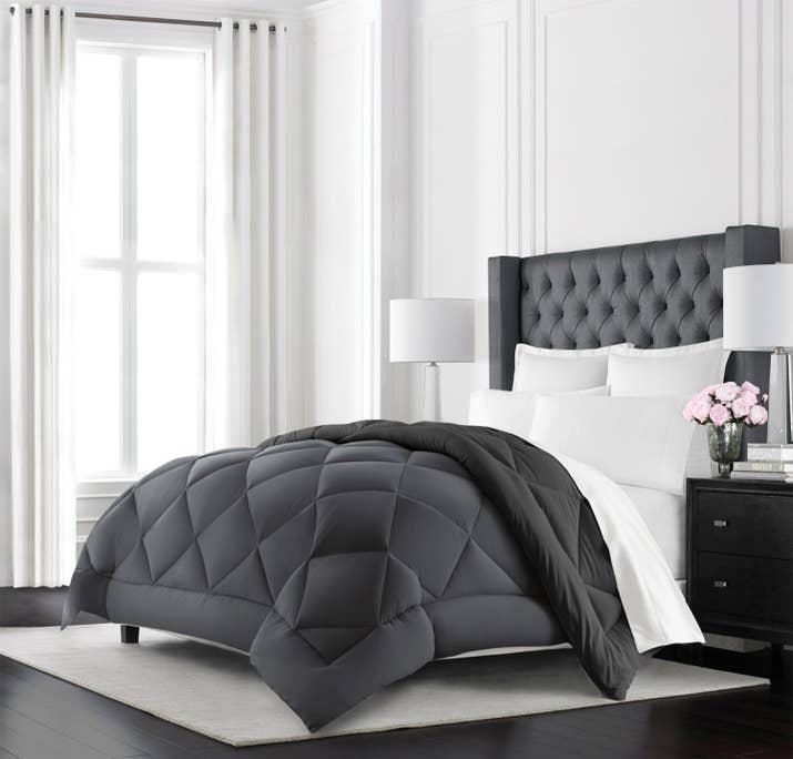 sleeping comforter on sets big ergonomic love cloud set white fluffy i a comforters
