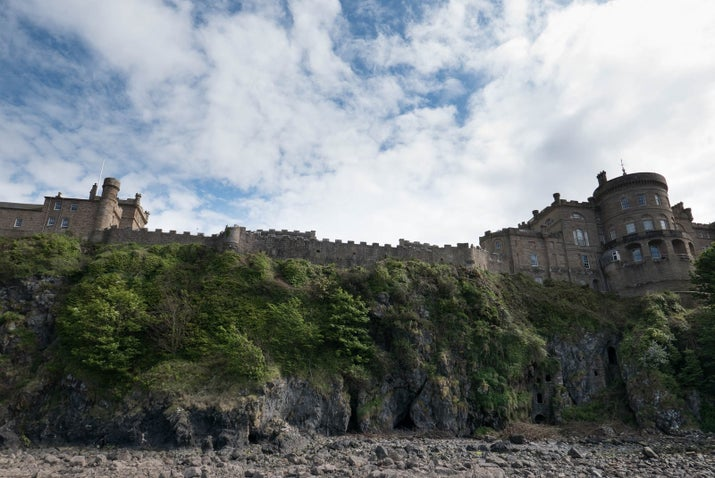 In the show, the Castle of Trujillo in Spain doubles as the Lannister's home of Casterly Rock, but Culzean Castle in Ayrshire is a pretty damn good lookalike. It's the crenellated former home of the Marquess of Ailsa, the chief of Clan Kennedy, and was built in 1777.