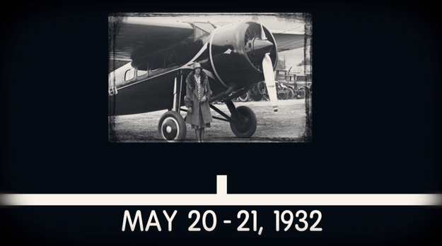 However, in 1932 Earhart made the trip again — this time alone. She flew from Newfoundland to Ireland in 15 hours and was the second person to ever complete this flight.