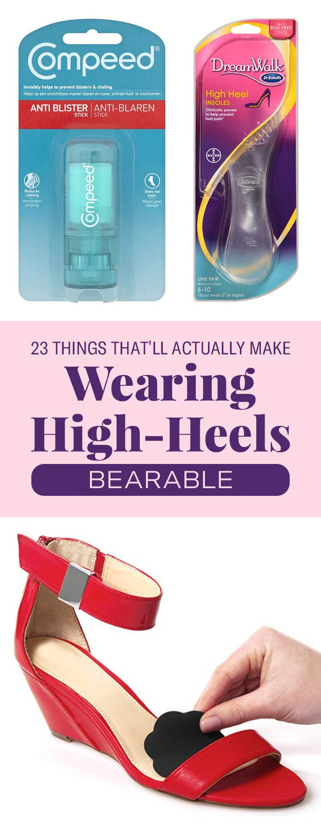 Things Thatll Actually Make Wearing High Heels Bearable - 23 pictures that will make you whole again