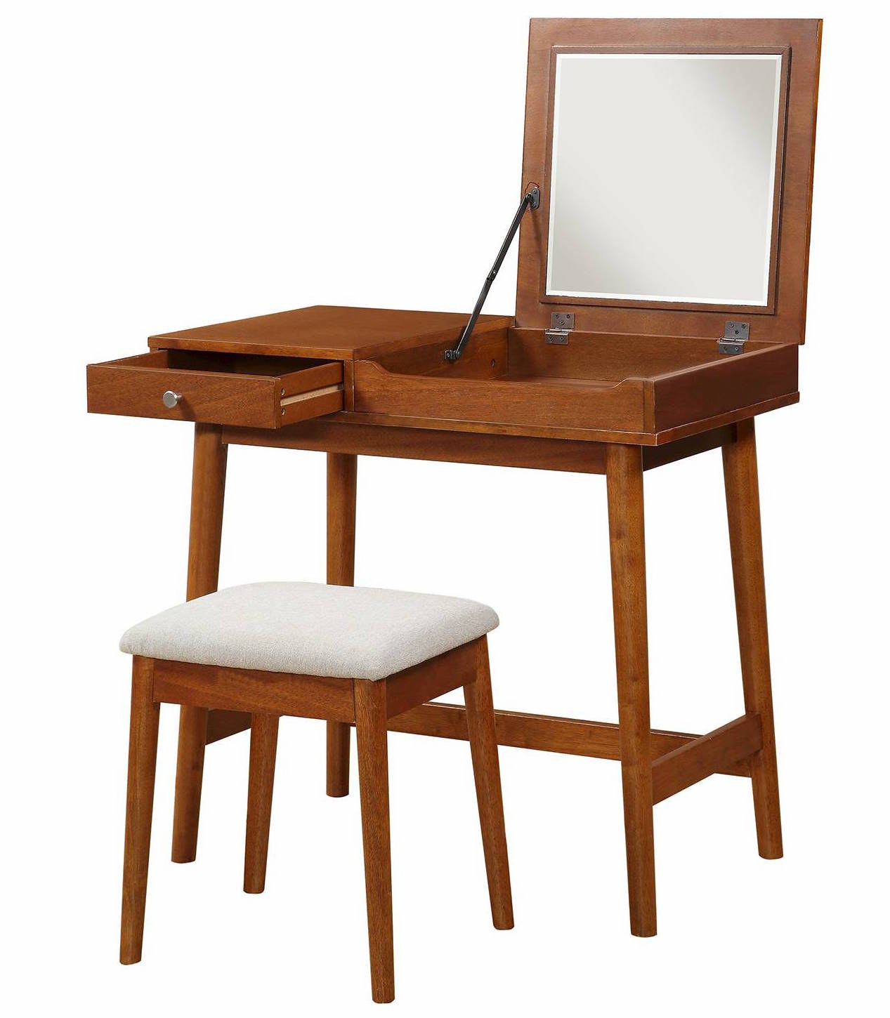 a midcentury vanity for all those mornings when you want to get ready like youu0027re living in 1950u0027s hollywood