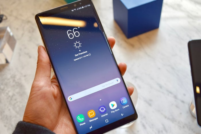 The Korean tech conglomerate debuted its newest device, the Note 8, a follow-up to last year's Note 7, on Wednesday. In many ways, the Note 8 is the Note 7 that never was. The newer model has the same pressure-sensitive S-Pen, the same water-resistance rating, and a similarly curved-edge screen. Its two key changes are that its battery has slightly less capacity, which poses less of an explosion risk, and that it now has a dual-camera system that rivals that of the iPhone 7 Plus. I got an early hands-on with the new Note 8 — and here's what you need to know.