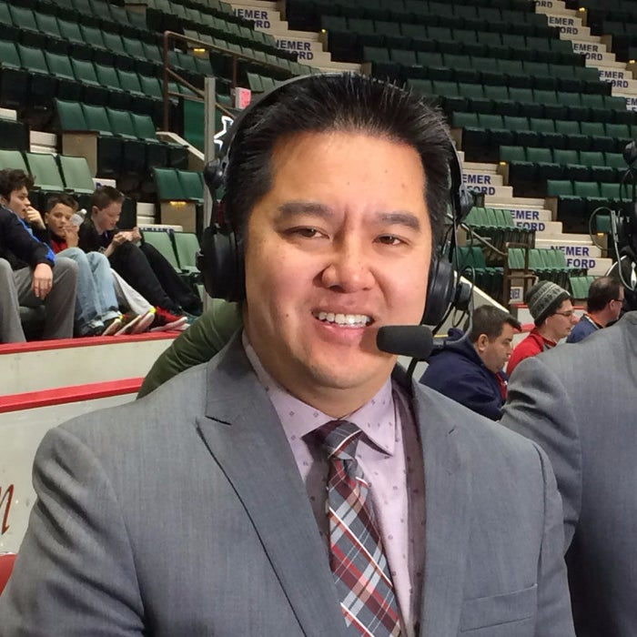 Robert Lee, a sportscaster for ESPN.