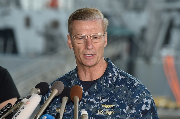 The US Navy Is Firing An Admiral After Fourth Collision This Year