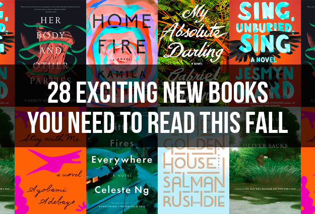 28 Exciting New Books You Need To Read This Fall