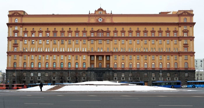 FSB headquarters in Moscow.