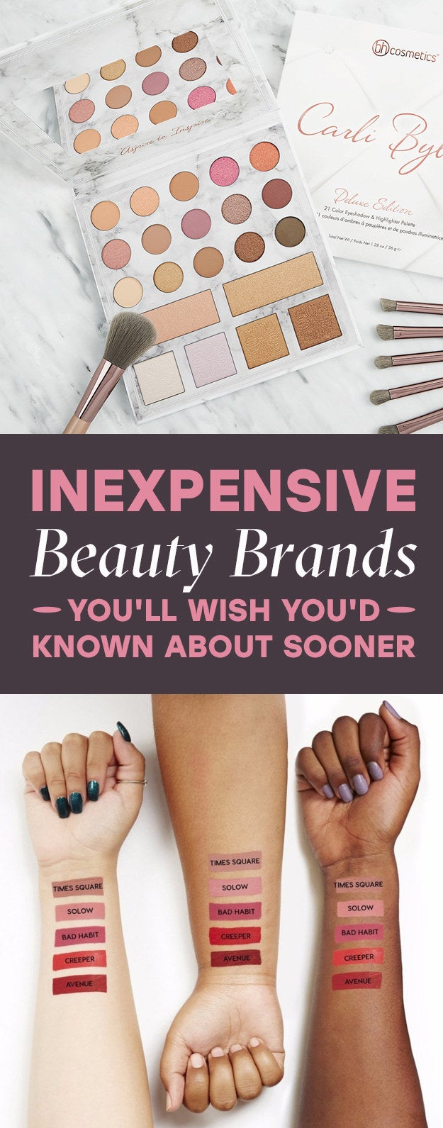 19 inexpensive beauty brands you u0027ll fall in love with