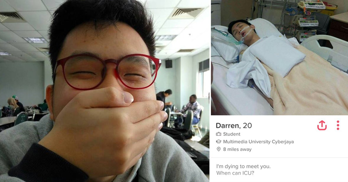 This Guy Who Got Heart Surgery Made The Most Hilariously Dark Tinder Bio