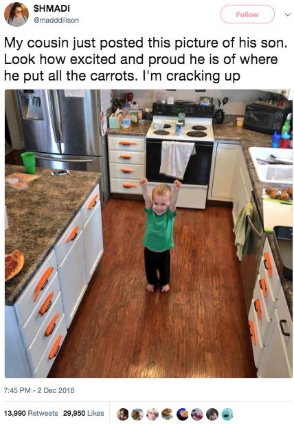 Little Kid Cooking Meme
