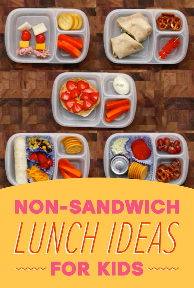 Easy no sandwich lunch box ideas to break your pbj routine share on facebook share forumfinder Images