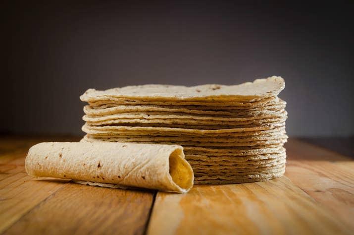 Por la influencia mexicana en Estados Unidos, la idea que los norteamericanos tienen de una tortilla es siempre la clásica tortilla mexicana de trigo o de maíz.