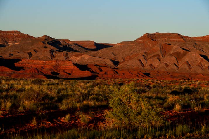 The landscape is varied in the southern portion of Bears Ears National Monument.