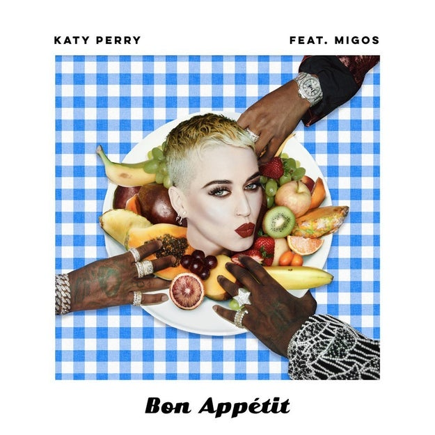 """And later on the track, she sings, """"You asked me for a place to sleep / Locked me out and threw a feast (what?!),"""" which some believe is a reference to Katy Perry's single """"Bon Appétit,"""" which came out earlier this year."""