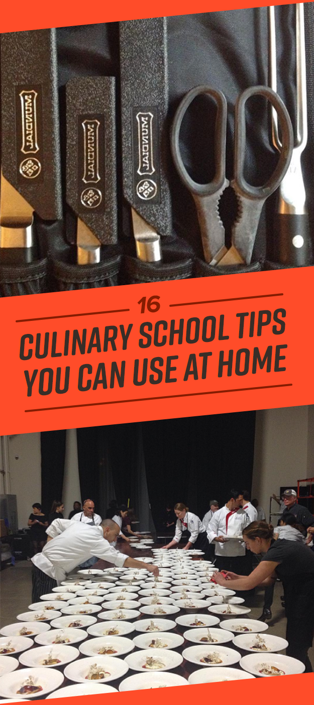 16 Of The Best Cooking Tips I Learned In Culinary School