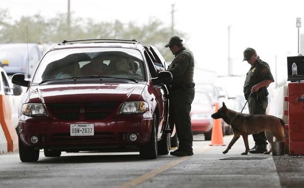 New Hurricane Harvey danger: border patrol checkpoints