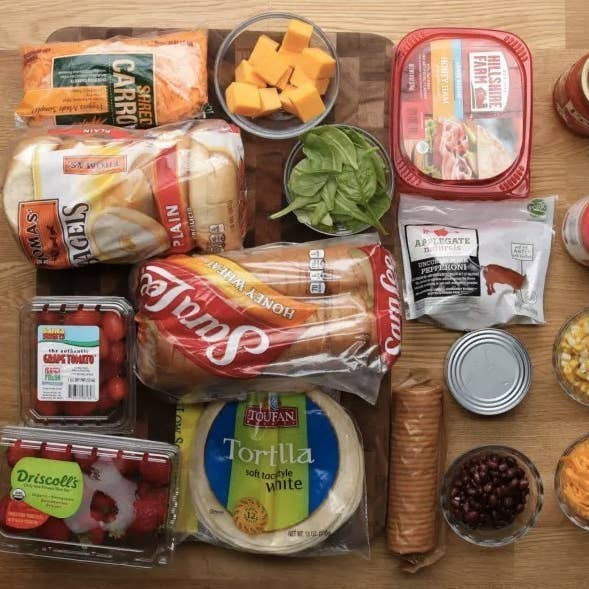 Easy no sandwich lunch box ideas to break your pbj routine we came up with five creative lunch box ideas to help you break your neverending sandwich cycle forumfinder Images