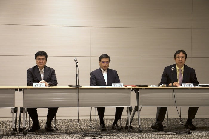 8月26日に開催された日本産科婦人科学会の定例記者会見。
