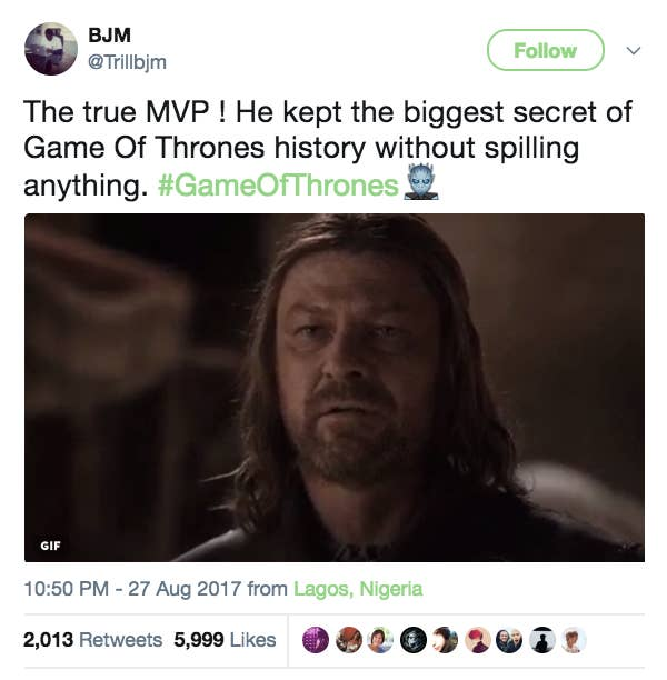 51 hilarious twitter reactions to the game of thrones season