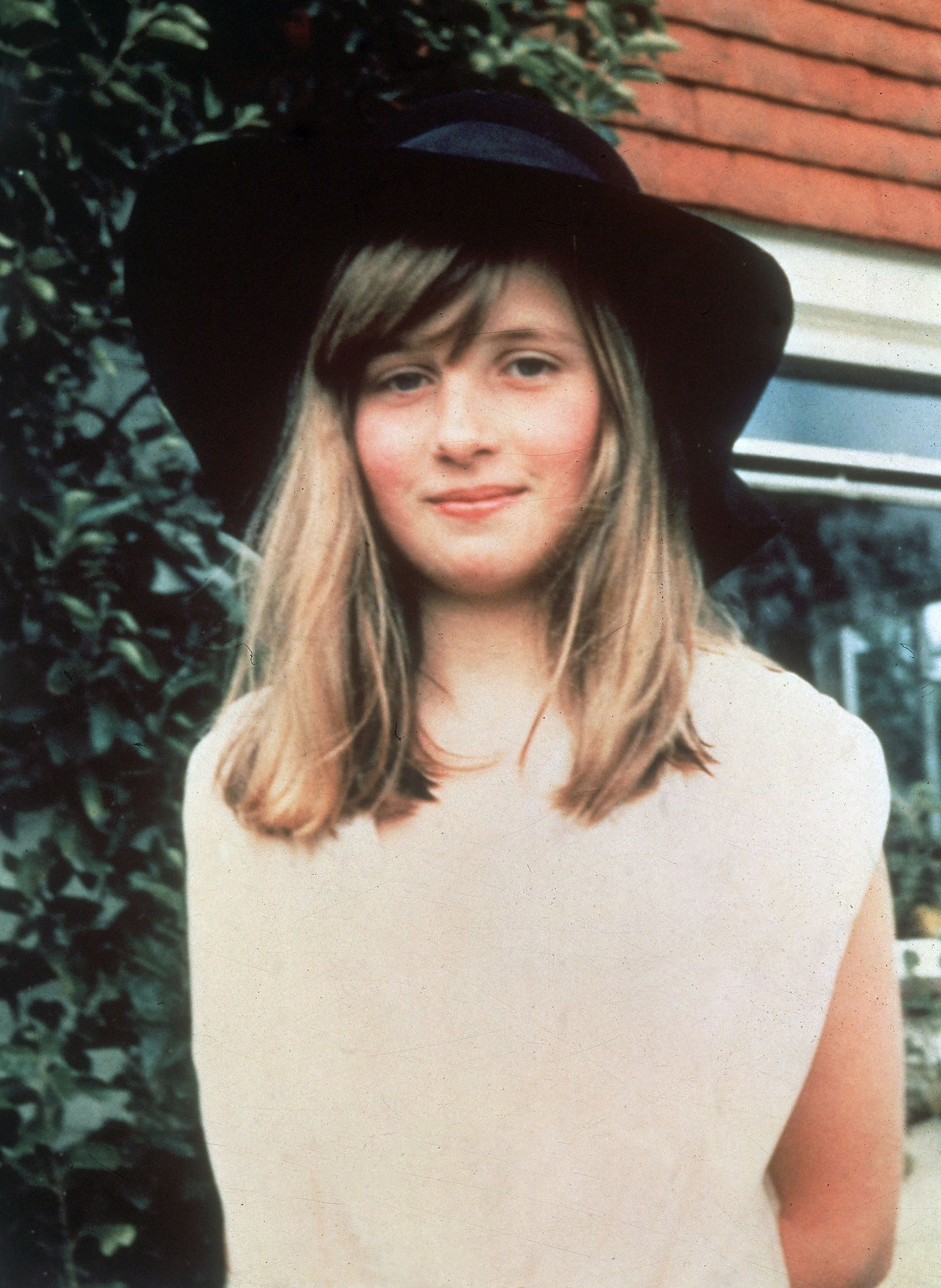 Lady Diana Spencer on a summer holiday in West Sussex, Britain, 1971.