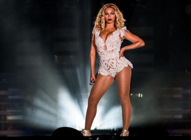 But now, it's rumored that there might be another mega-star in the running to write the theme song...non-other then BEYONCÉ!