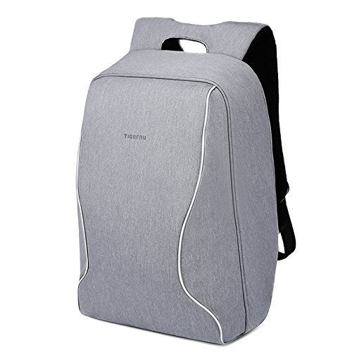 """The zippers are at your back, so only YOU can get to them!Get it from Amazon for $40.99.Promising review: """"This bag is legit AWESOME. It fits literally anything you want. I love that it has no outside pockets and the zippers can be zipped and hidden all the way down behind a flap on the right or left side. On top of that, it has two hidden compartments on the side that touch your back for easy access to your passport in line at the airport, but still stay safe and secure with no digging necessary. It has holes in the zipper metal to slide a lock through, too. This is all you need for international traveling to protect against pick-pocketers and I travel a lot."""" —Susan K."""