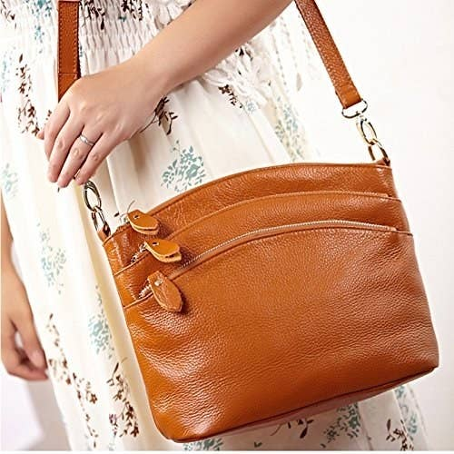 e53390d45ff2 34 Of The Best Leather Bags You Can Get On Amazon