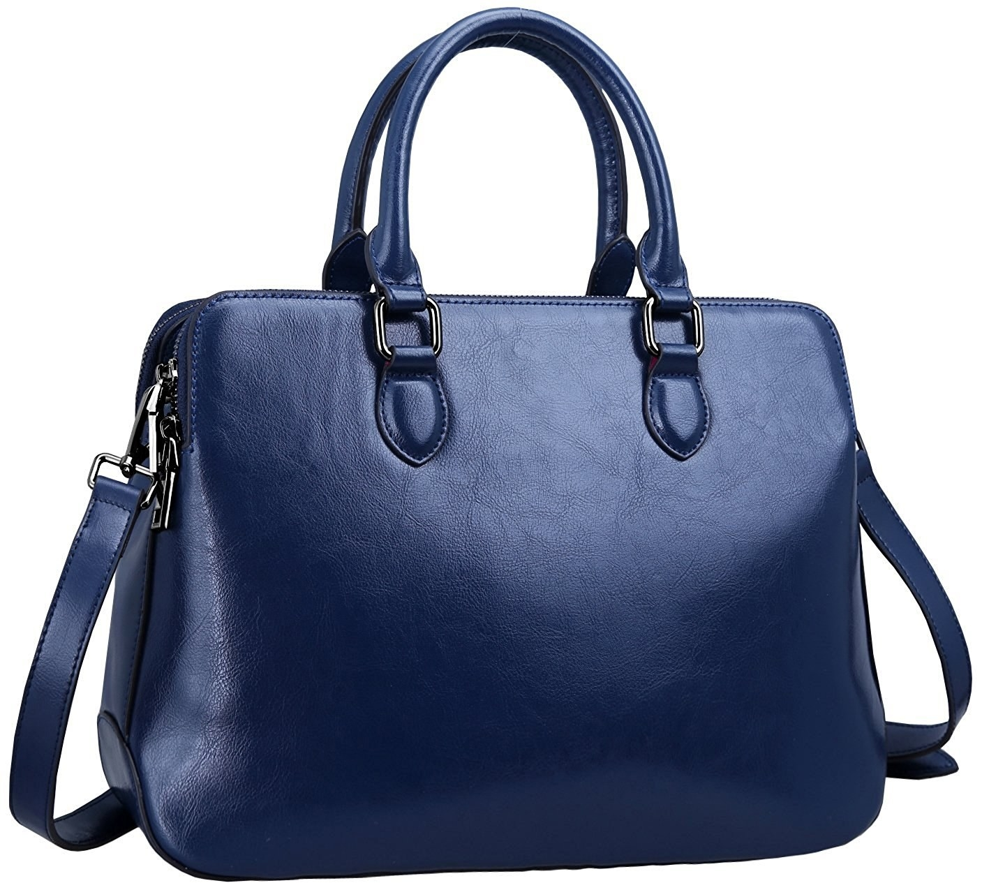 570b75cae344 A sleek top-handle bag to give your life some structure.