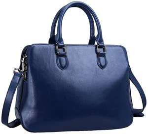 46a088046ab0 A sleek top-handle bag to give your life some structure.